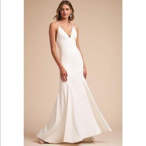 Bhldn Jenny Yoo Estella wedding dress